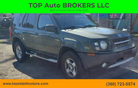 2003 Nissan Xterra for sale at TOP Auto BROKERS LLC in Vancouver WA