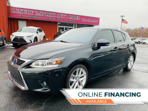 2017 Lexus CT 200h for sale at LUXURY IMPORTS AUTO SALES INC in North Branch MN
