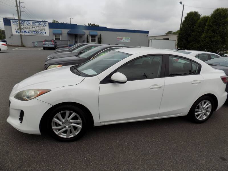2012 Mazda MAZDA3 for sale at Pro-Motion Motor Co in Lincolnton NC