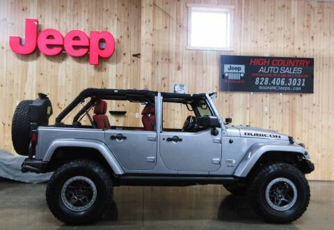2013 Jeep Wrangler Unlimited for sale at Boone NC Jeeps-High Country Auto Sales in Boone NC