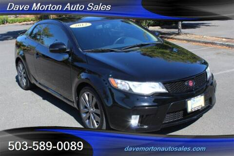2012 Kia Forte Koup for sale at Dave Morton Auto Sales in Salem OR