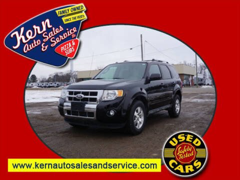 2010 Ford Escape for sale at Kern Auto Sales & Service LLC in Chelsea MI