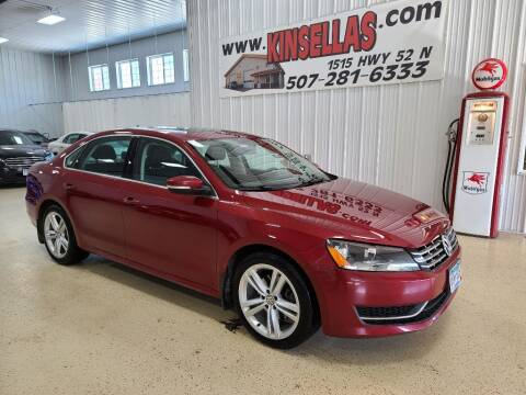 2015 Volkswagen Passat for sale at Kinsellas Auto Sales in Rochester MN