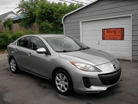 2012 Mazda MAZDA3 for sale at Marty's Auto Sales in Lenoir City TN