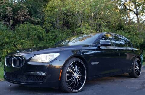 2014 BMW 7 Series for sale at The Motor Collection in Columbus OH