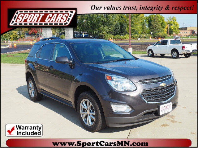 2016 Chevrolet Equinox for sale at SPORT CARS in Norwood MN