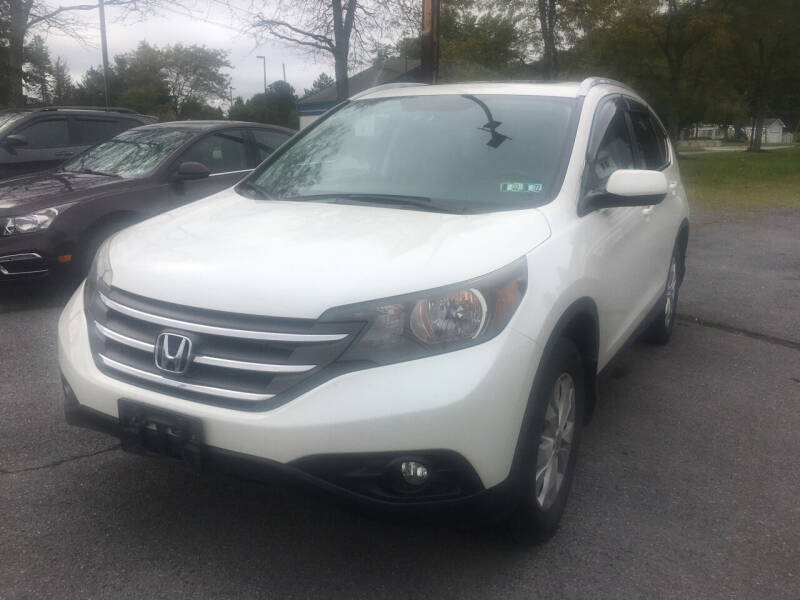 2014 Honda CR-V for sale at K B Motors in Clearfield PA