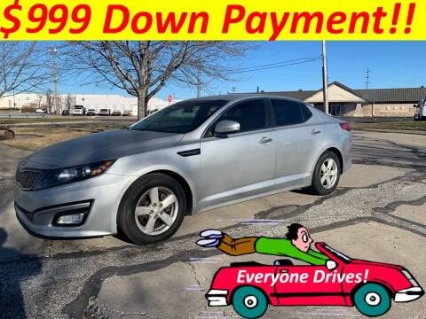 2014 Kia Optima for sale at World Automotive in Euclid OH