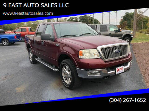 2005 Ford F-150 for sale at 9 EAST AUTO SALES LLC in Martinsburg WV
