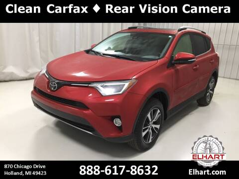 2017 Toyota RAV4 for sale at Elhart Automotive Campus in Holland MI