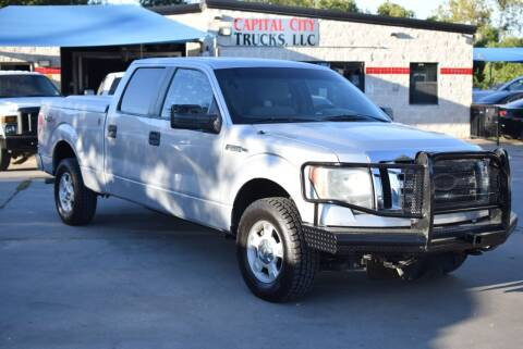2010 Ford F-150 for sale at Capital City Trucks LLC in Round Rock TX