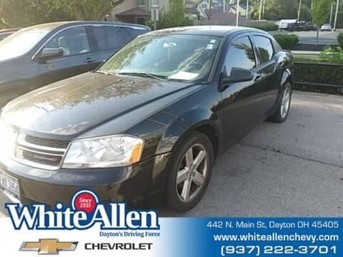 2013 Dodge Avenger for sale at WHITE-ALLEN CHEVROLET in Dayton OH