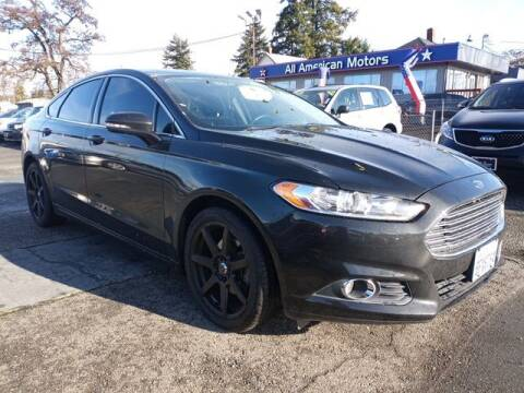 2013 Ford Fusion for sale at All American Motors in Tacoma WA