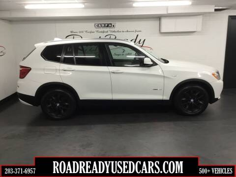 2014 BMW X3 for sale at Road Ready Used Cars in Ansonia CT