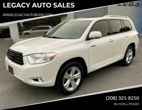 2010 Toyota Highlander for sale at LEGACY AUTO SALES in Boise ID