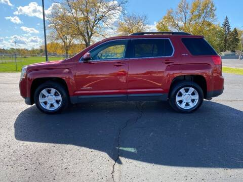 2013 GMC Terrain for sale at Caruzin Motors in Flint MI