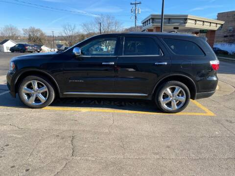 2013 Dodge Durango for sale at Elizabeth Garage Inc in Elizabeth IL