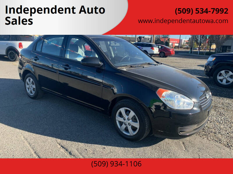 2008 Hyundai Accent for sale at Independent Auto Sales #2 in Spokane WA