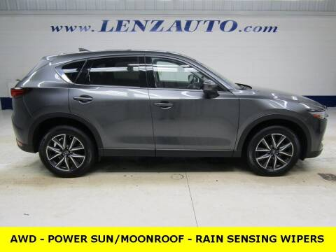 2018 Mazda CX-5 for sale at LENZ TRUCK CENTER in Fond Du Lac WI