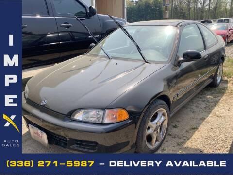 1995 Honda Civic for sale at Impex Auto Sales in Greensboro NC
