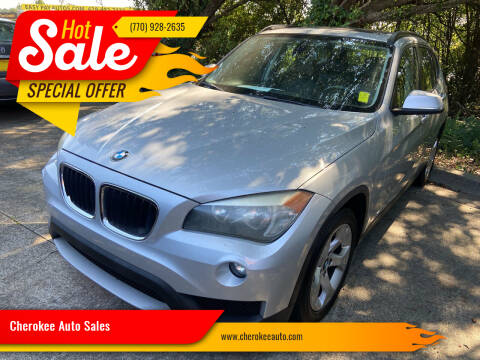 2013 BMW X1 for sale at Cherokee Auto Sales in Acworth GA