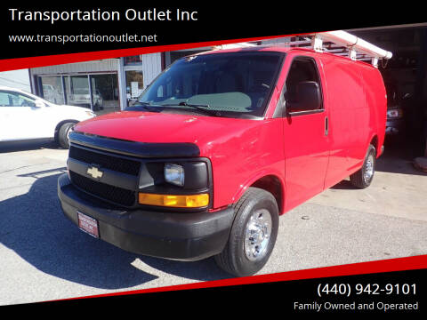 2011 Chevrolet Express Cargo for sale at Transportation Outlet Inc in Eastlake OH