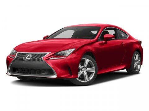 2017 Lexus RC 200t for sale at STG Auto Group in Montclair CA