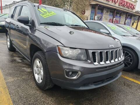 2014 Jeep Compass for sale at USA Auto Brokers in Houston TX