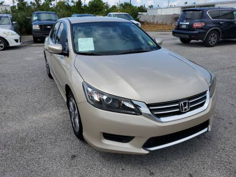 2013 Honda Accord for sale at Jamrock Auto Sales of Panama City in Panama City FL