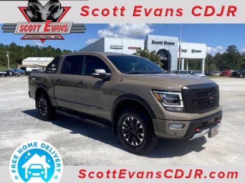 2020 Nissan Titan for sale at SCOTT EVANS CHRYSLER DODGE in Carrollton GA