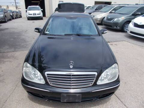 2004 Mercedes-Benz S-Class for sale at ACH AutoHaus in Dallas TX