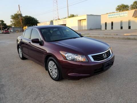 2008 Honda Accord for sale at Image Auto Sales in Dallas TX
