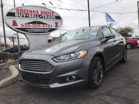 2013 Ford Fusion for sale at Arizona Drive LLC in Tucson AZ