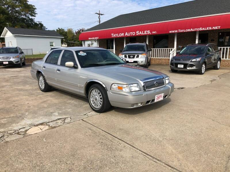 2007 Mercury Grand Marquis for sale at Taylor Auto Sales Inc in Lyman SC