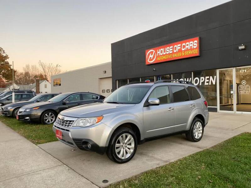 2012 Subaru Forester for sale at HOUSE OF CARS CT in Meriden CT