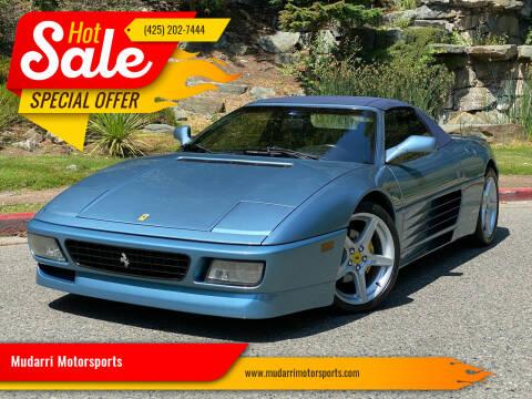 1994 Ferrari 348 for sale at Mudarri Motorsports in Kirkland WA