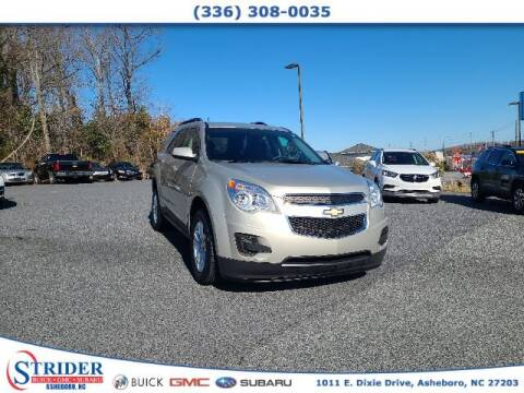 2015 Chevrolet Equinox for sale at STRIDER BUICK GMC SUBARU in Asheboro NC