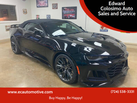 2018 Chevrolet Camaro for sale at Edward Colosimo Auto Sales and Service in Evans City PA