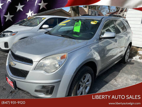 2011 Chevrolet Equinox for sale at Liberty Auto Sales in Elgin IL