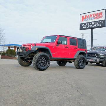 2008 Jeep Wrangler Unlimited for sale at Hayden Cars in Coeur D Alene ID