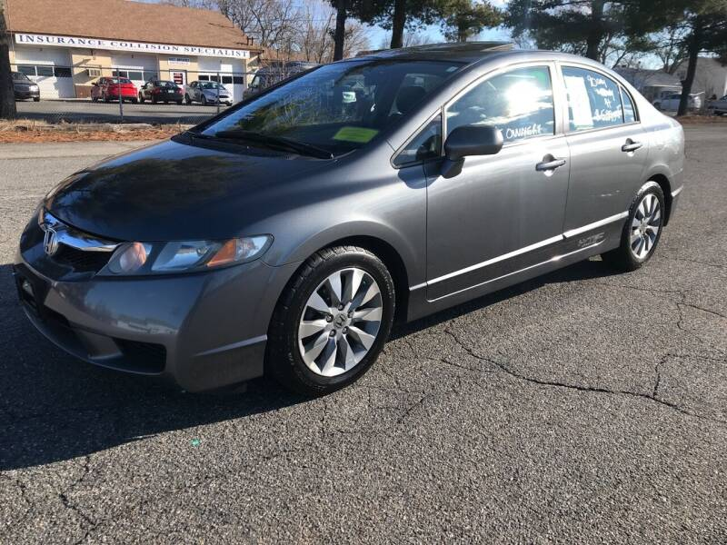 2010 Honda Civic for sale at D'Ambroise Auto Sales in Lowell MA