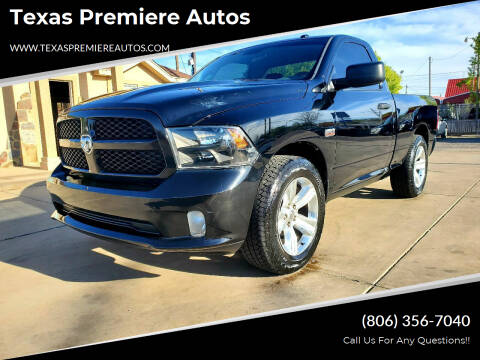 2014 RAM Ram Pickup 1500 for sale at Texas Premiere Autos in Amarillo TX