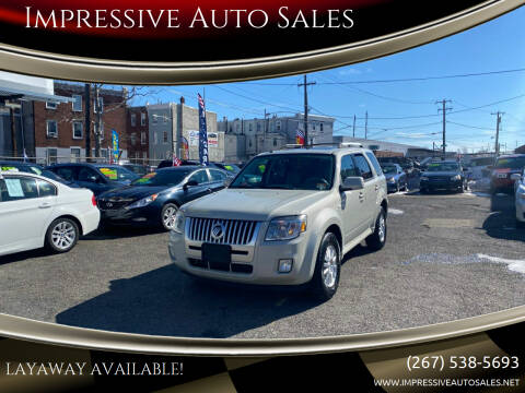 2009 Mercury Mariner for sale at Impressive Auto Sales in Philadelphia PA