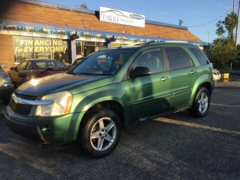 2005 Chevrolet Equinox for sale at Duke Automotive Group in Cincinnati OH