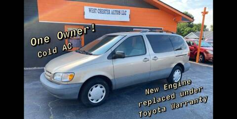2000 Toyota Sienna for sale at West Chester Autos in Hamilton OH