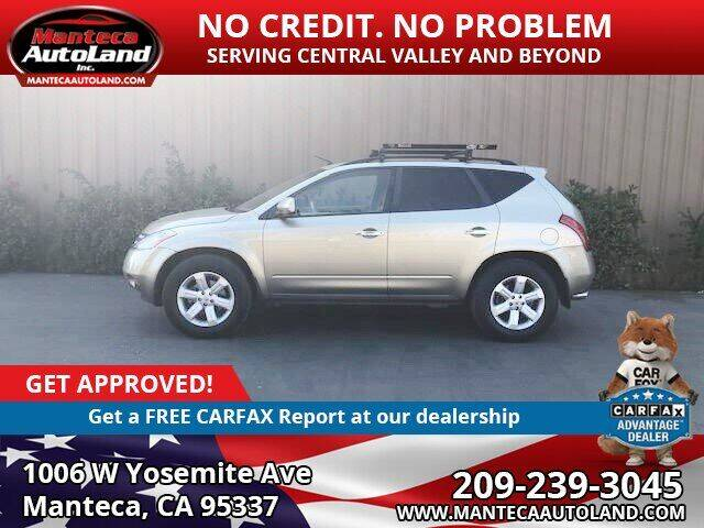2007 Nissan Murano for sale at Manteca Auto Land in Manteca CA