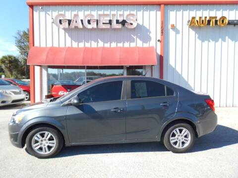2012 Chevrolet Sonic for sale at Gagel's Auto Sales in Gibsonton FL