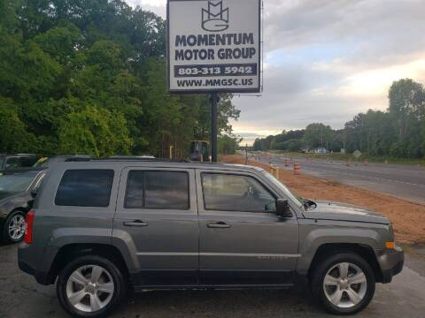 2012 Jeep Patriot for sale at Momentum Motor Group in Lancaster SC