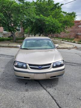 2001 Chevrolet Impala for sale at EBN Auto Sales in Lowell MA