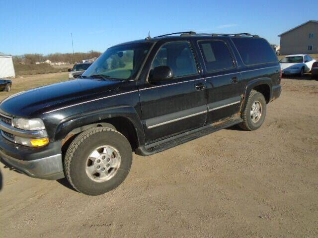 2002 Chevrolet Suburban for sale at SWENSON MOTORS in Gaylord MN